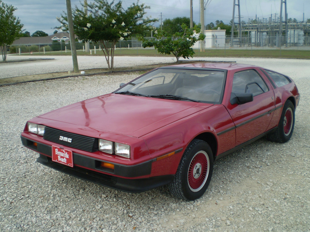 Frame & Body My Delorean...is red.